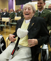 Army athlete of the year and surprise for Dana Zátopková for the 95th birthday